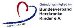 Herz-Kinder-Hilfe Hamburg e.V. BVHK Logo