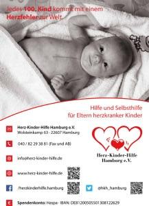 Aushang- Plakat Herz-Kinder-Hilfe Hamburg e.V.Web