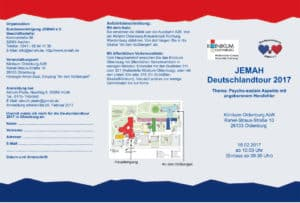JEMAH-Deutschlandtour 2017 Oldenburg Flyer 1
