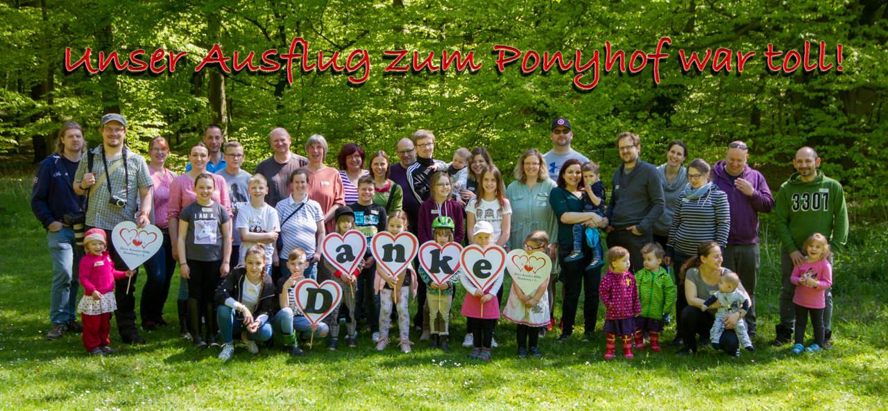 Ponyhof-Ausflug-Post