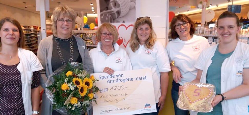5 Jahre DMUetersen-Geburtstags-Spendenaktion