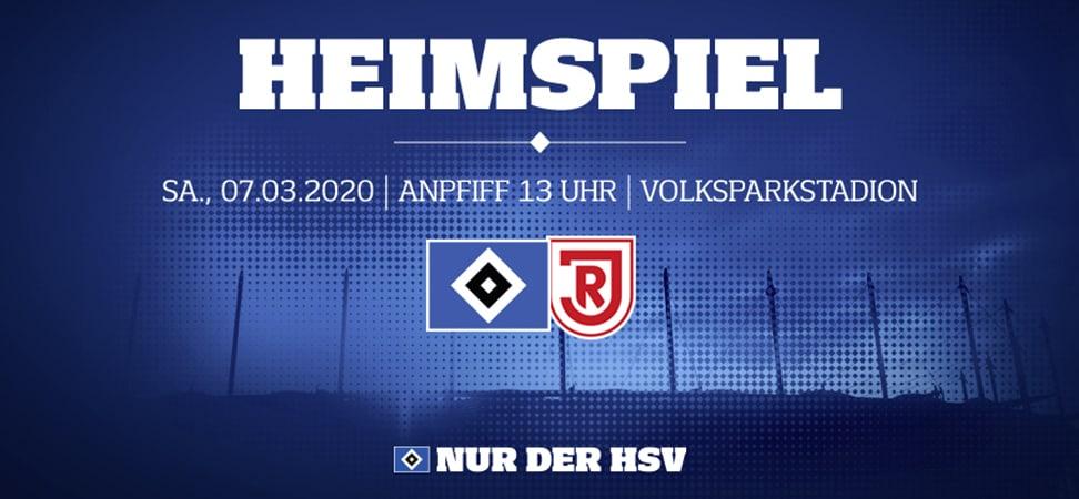 HSV gegen SSV Jahn Regensburg