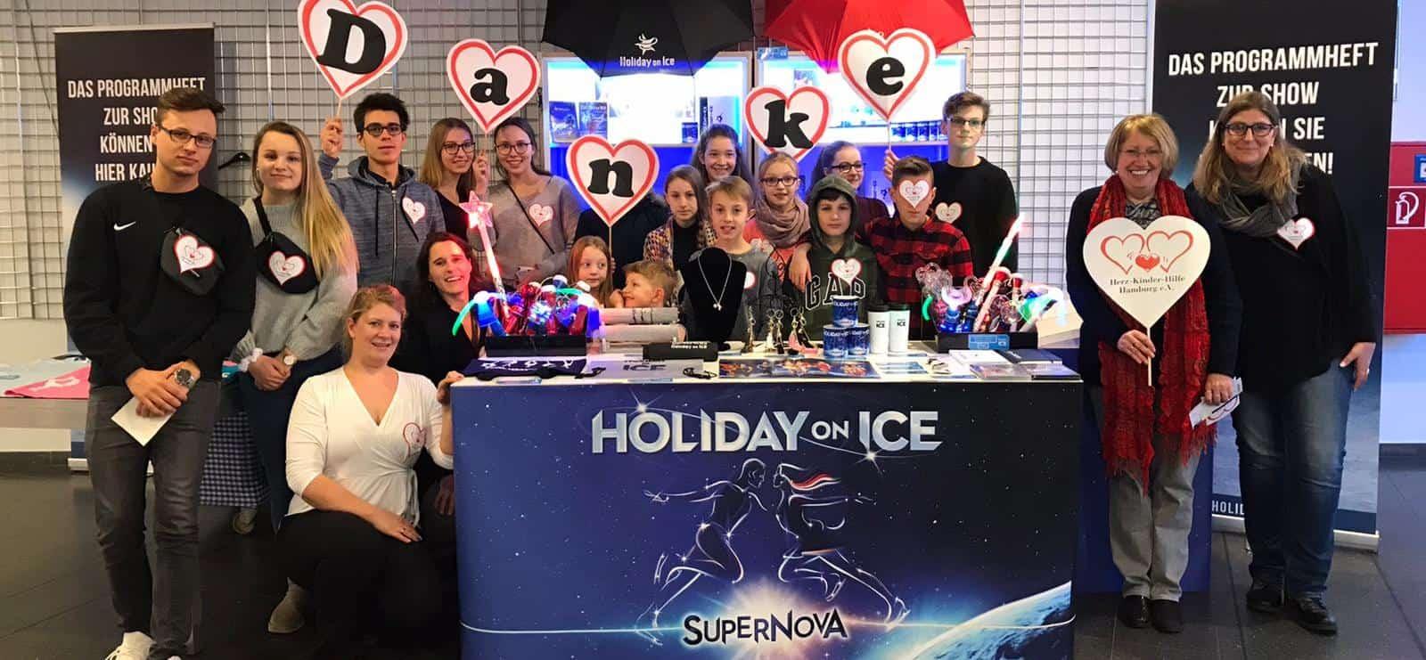 Herzlichen Dank, Holiday On Ice