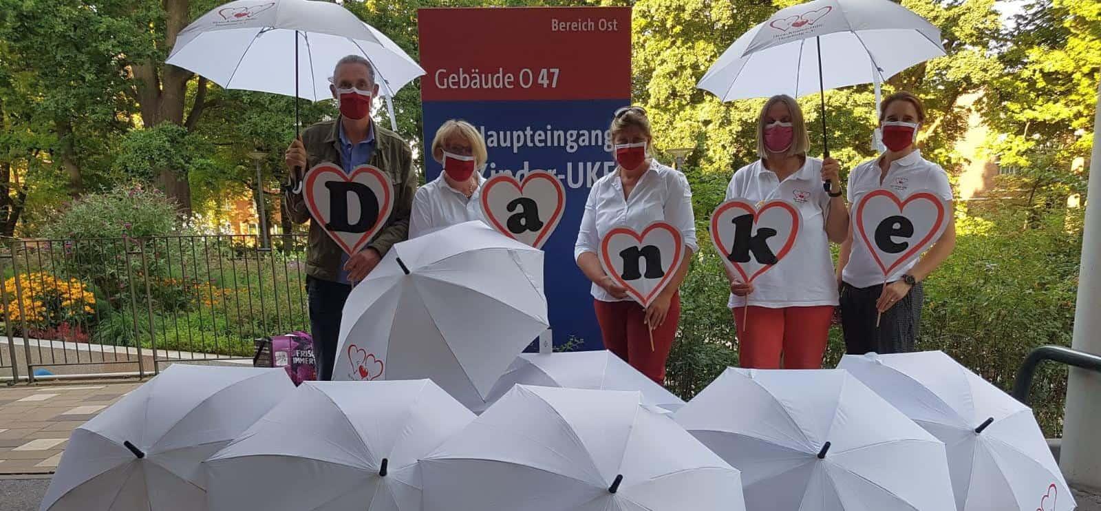 Die neuen Regenschirme