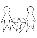 Erstes Vereinslogo Eltern mit Herzkind