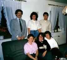 Erster Vereinsvorstand 1988