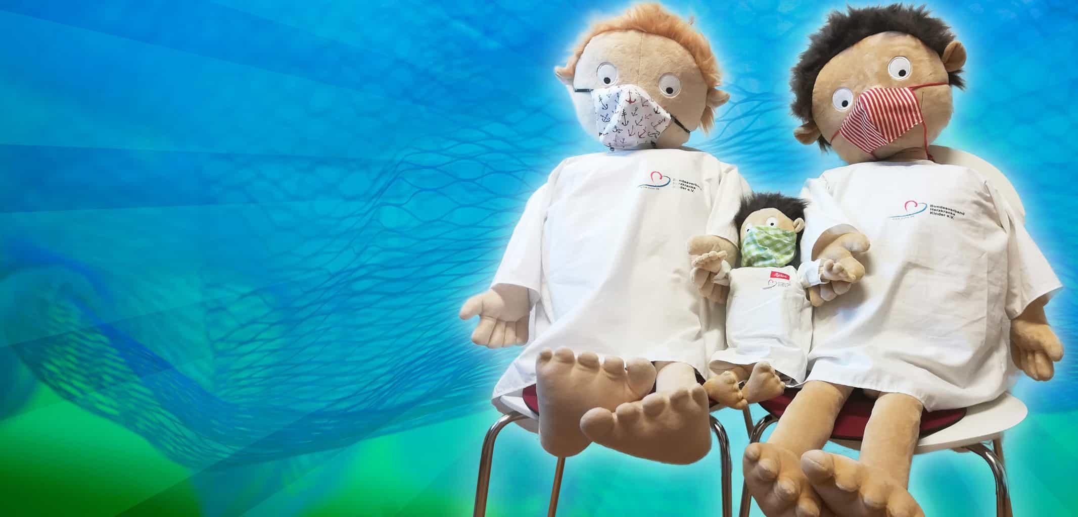 Erwin und Rosi mit Maske