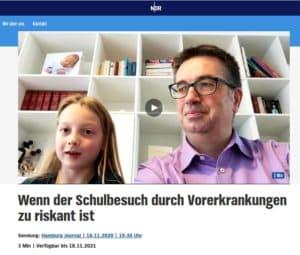 Screenshot NDR-Beitrag 18.11.20