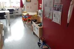 Das umgebaute Eltern-Kind-Zimmer am UKE  Foto: Heyde